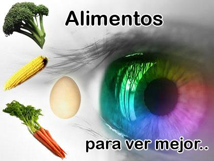 Vitaminas antioxidantes para los ojos
